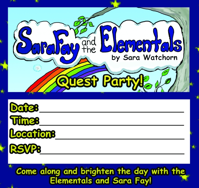 Quest Party Invitation